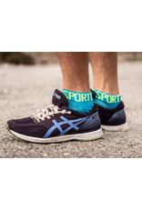 Compressport Pro Racing Socks V3.0 Ultralight Run Low Hardloopsokken - Blauw