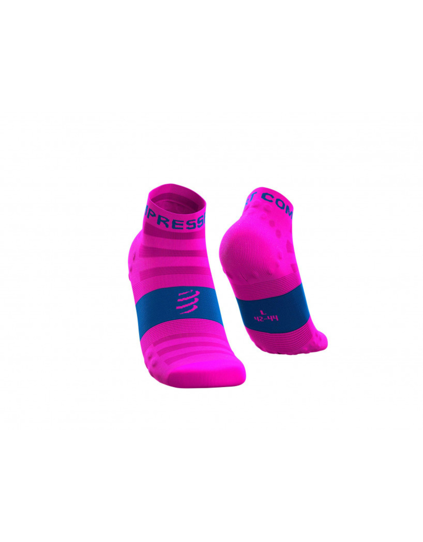 Compressport Pro Racing Socks V3.0 Ultralight Run Low Chaussettes De Running - Rose