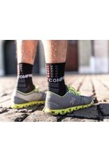 Compressport Shock Absorb Socks Hardloopsokken Hoog - Zwart