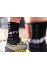 Compressport Shock Absorb Socks Chaussettes De Running Haute - Noir