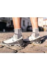 Compressport Shock Absorb Socks Chaussettes De Running Haute - Gris