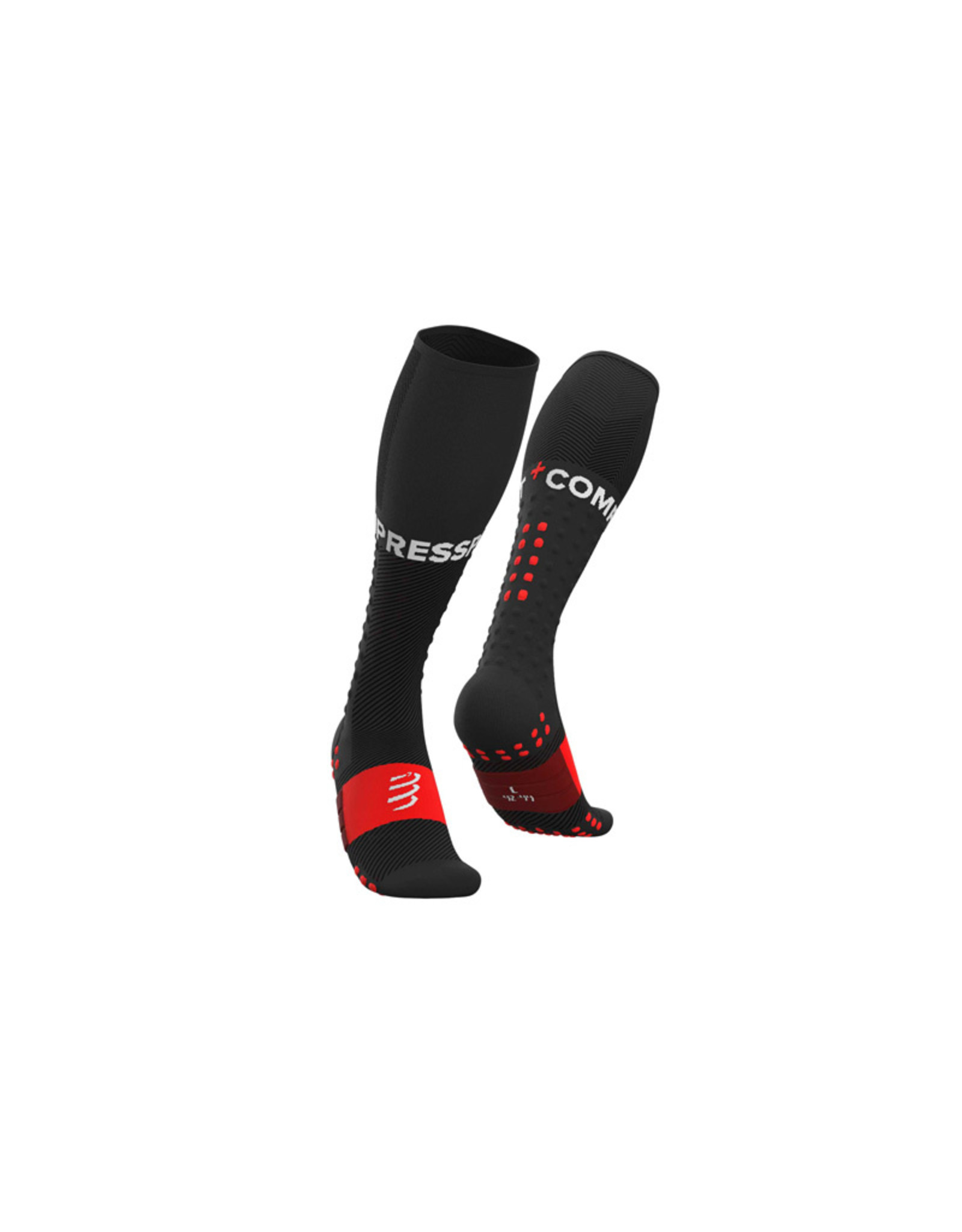 Compressport Full Socks Run Chaussettes De Compression - Noir