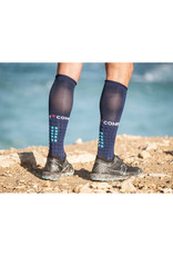 Compressport Full Socks Run Chaussettes De Compression - Bleu