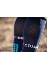 Compressport Full Socks Run Compressiesokken - Blauw
