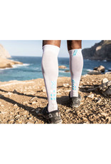 Compressport Full Socks Race Oxygen Compressiesokken - Wit