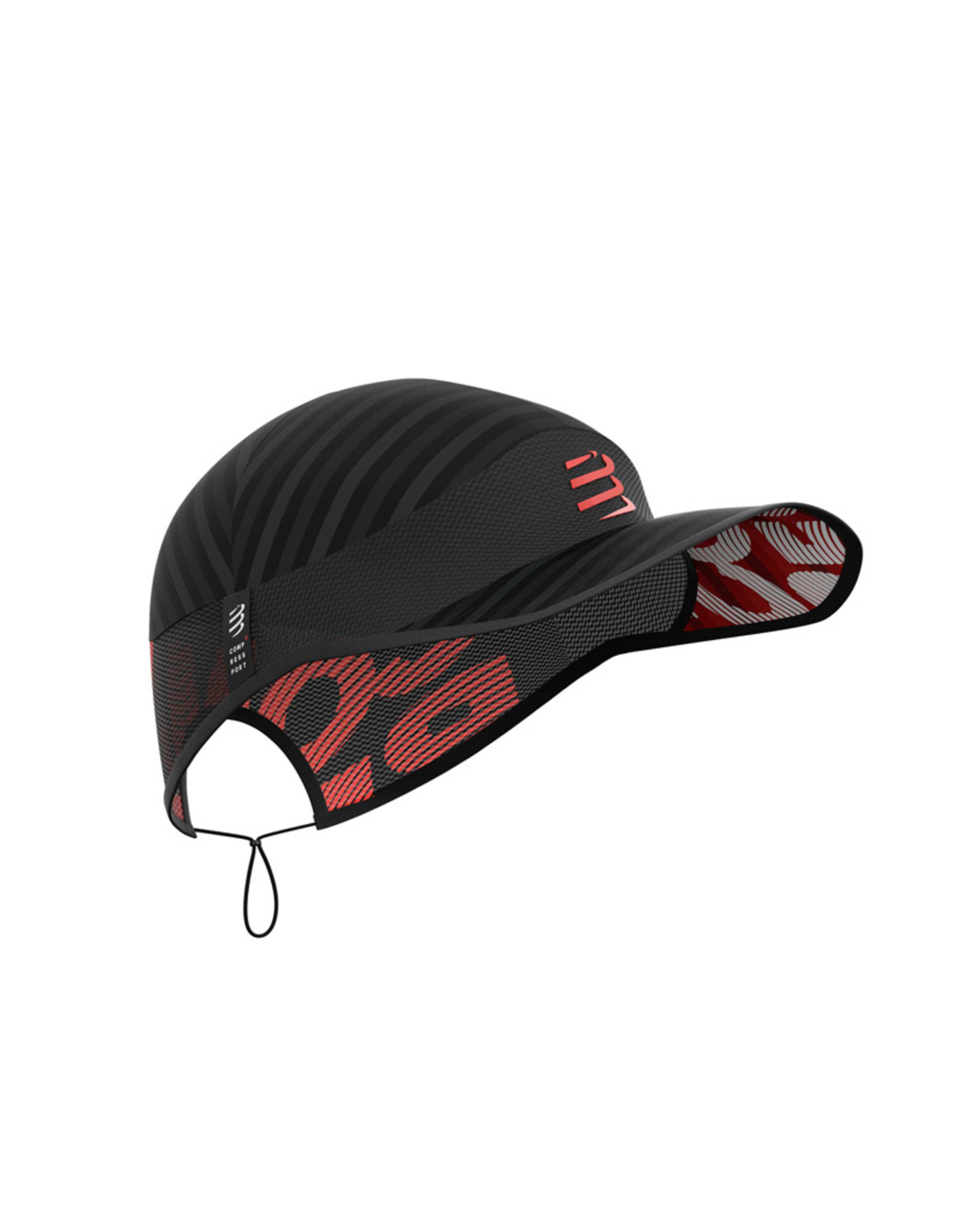 Compressport Pro Racing Cap Pet Voor Hardlopen - Zwart