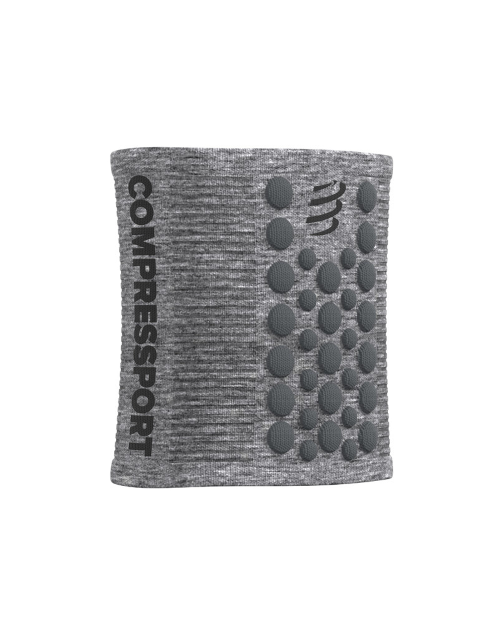 Compressport Zweetbandjes 3D Dots - Gris