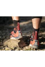 Compressport Pro Racing Socks V3.0 Trail Hardloopsokken Hoog - Zwart/Rood