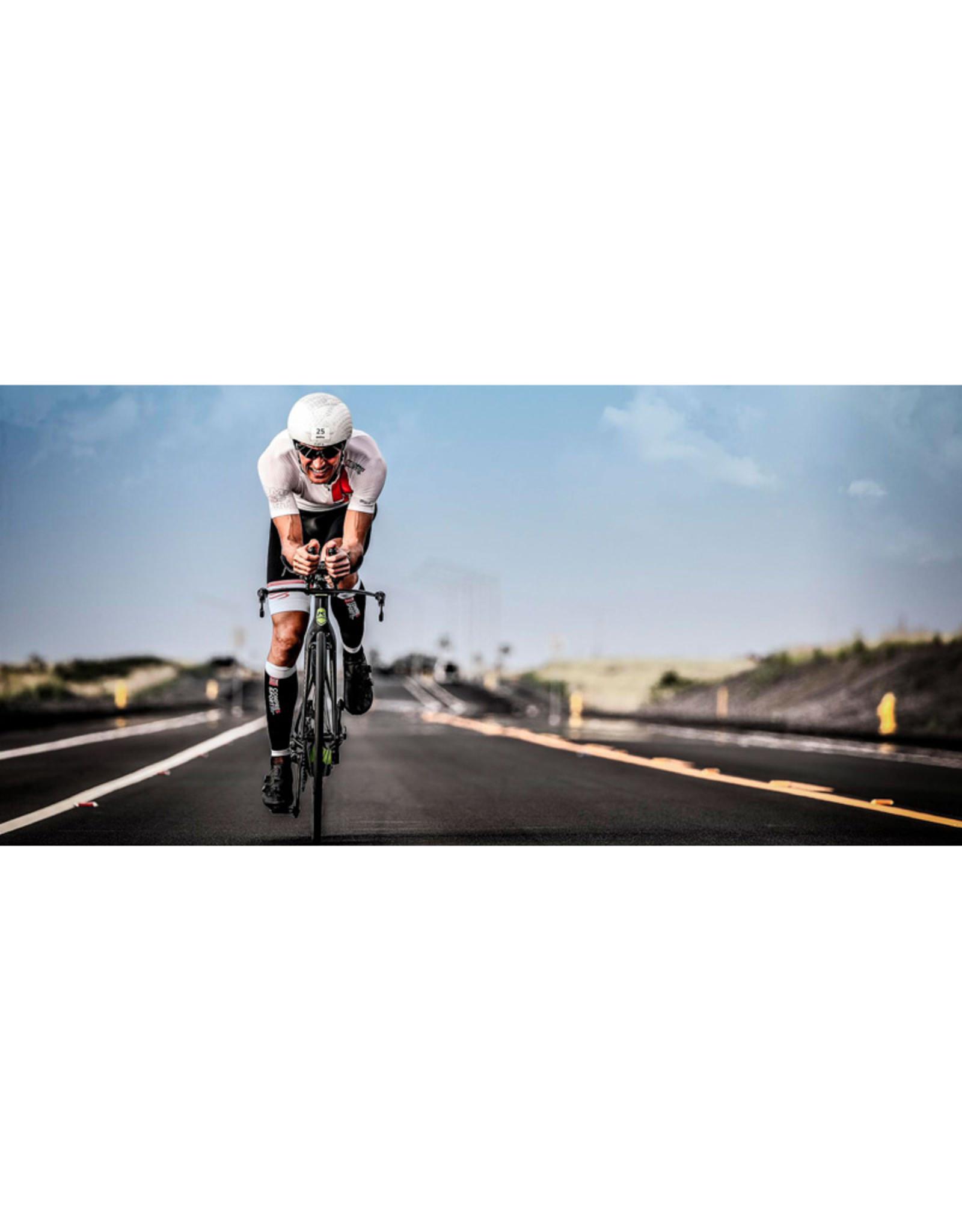 Compressport Triathlon Postural Aero Ss Top - Homme - Blanc