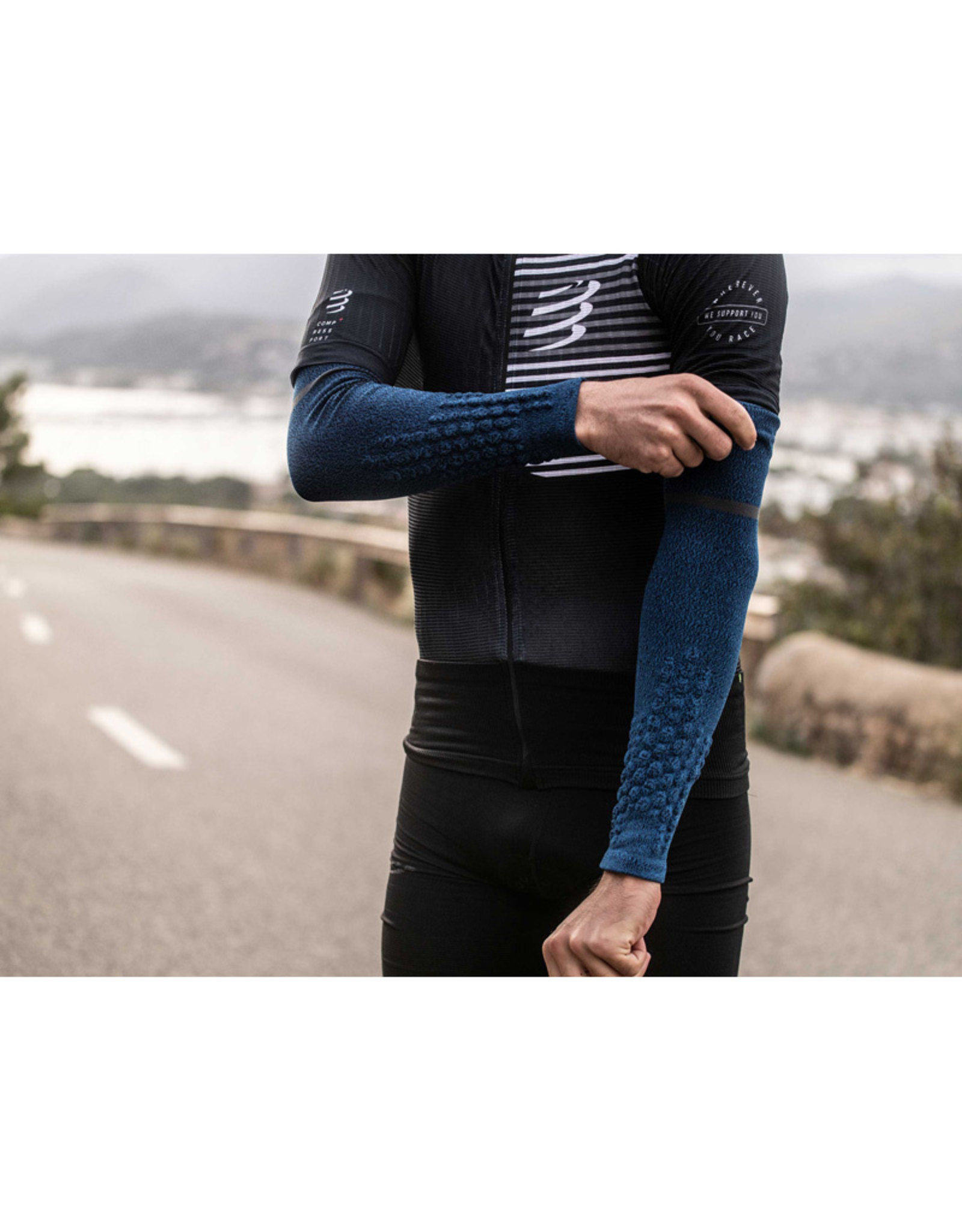 Compressport Armforce Ultralight Armsleeves - Blauw