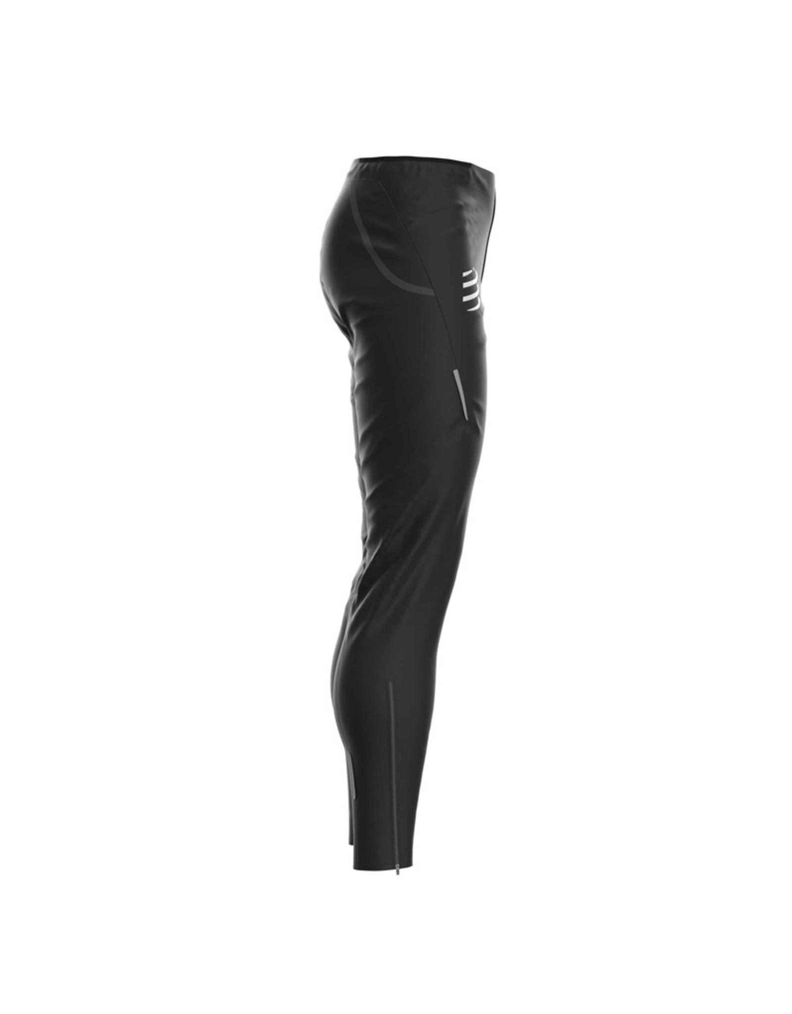 Compressport Hurricane Waterproof 10/10 Pants Waterdichte Broek - Zwart