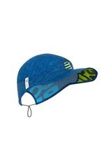 Compressport Pro Racing Cap Pet Voor Hardlopen - Blauw