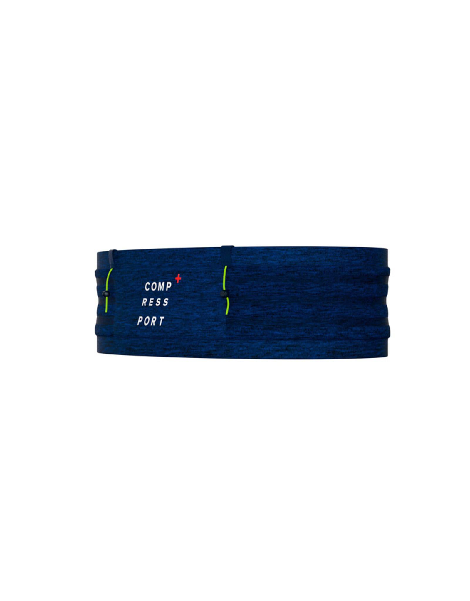 Compressport Free Belt Pro Heupband Met Lussen - Blauw