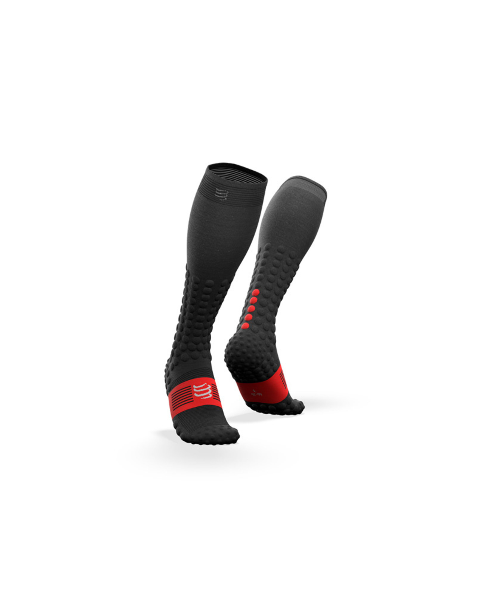 Compressport Full Socks Race & Recovery Compressiesokken - Zwart