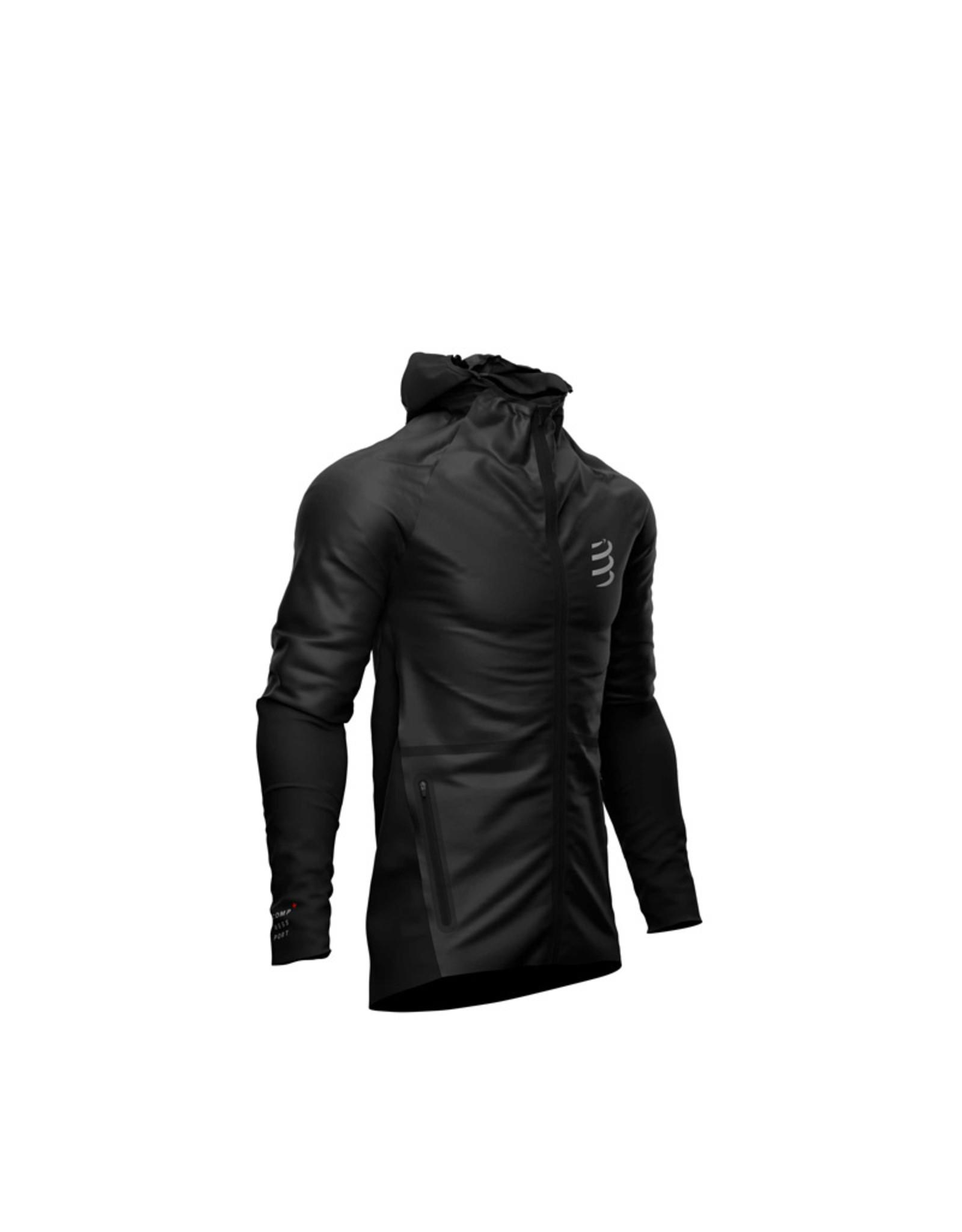 Compressport Hurricane Waterproof 25/75 Jacket Veste Impermeable - Noir