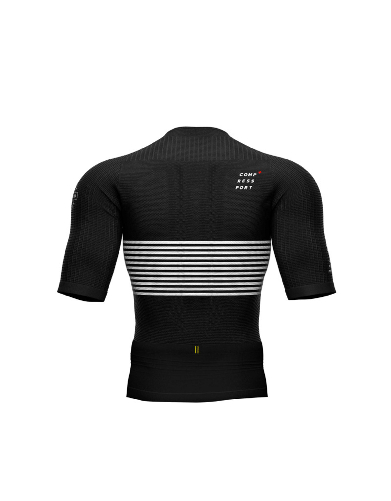 Compressport Tri Postural Ss Top Triathlon Shirt - Noir