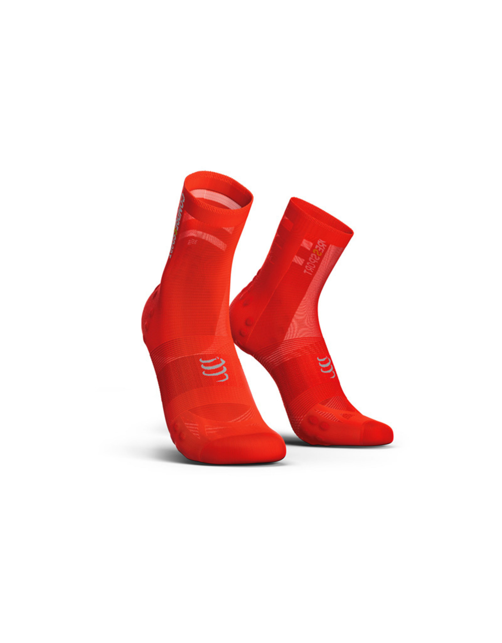 Compressport Pro Racing Socks V3.0 Ultralight Bike Fietssokken - Rood