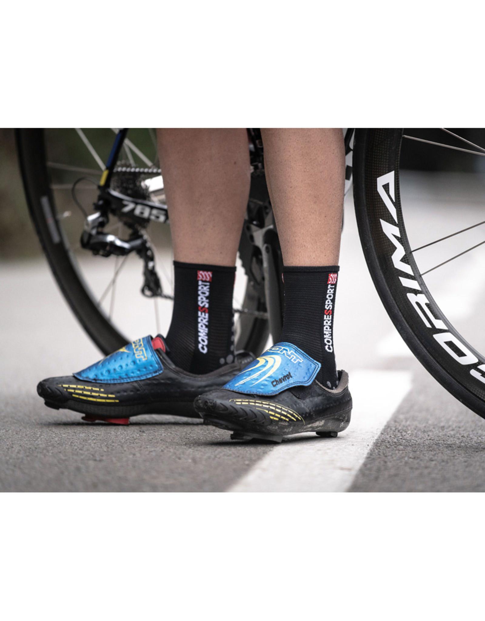 Compressport Pro Racing Socks V3.0 Bike Fietssokken - Zwart