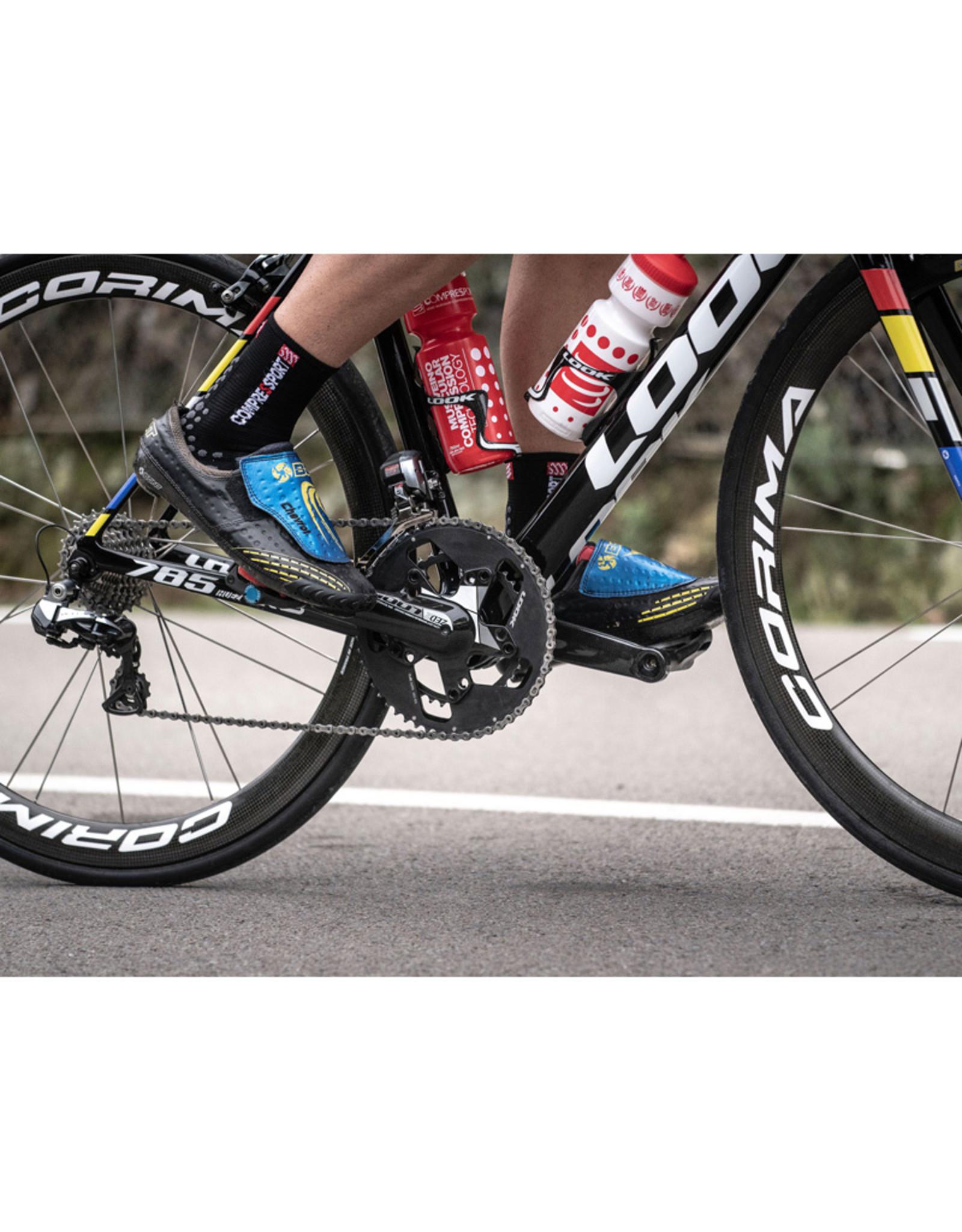 Compressport Pro Racing Socks V3.0 Bike Chaussettes Bicyclette - Noir