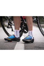 Compressport Pro Racing Socks V3.0 Bike Chaussettes Bicyclette - Blanc