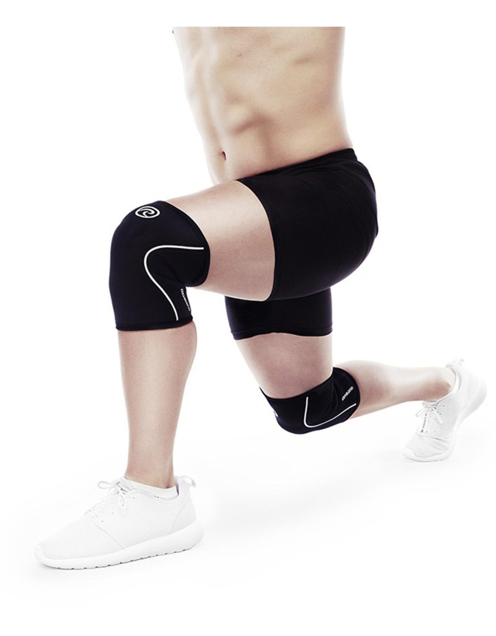 Rehband Rx Knee Sleeve 5Mm Kniebrace - Zwart