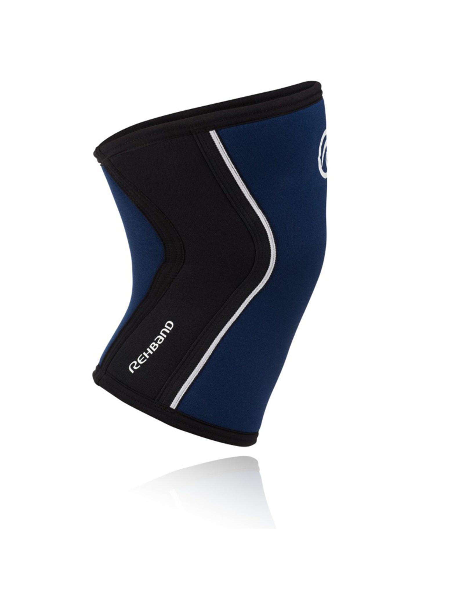 Rehband Rx Knee Sleeve 5Mm Kniebrace - Navy