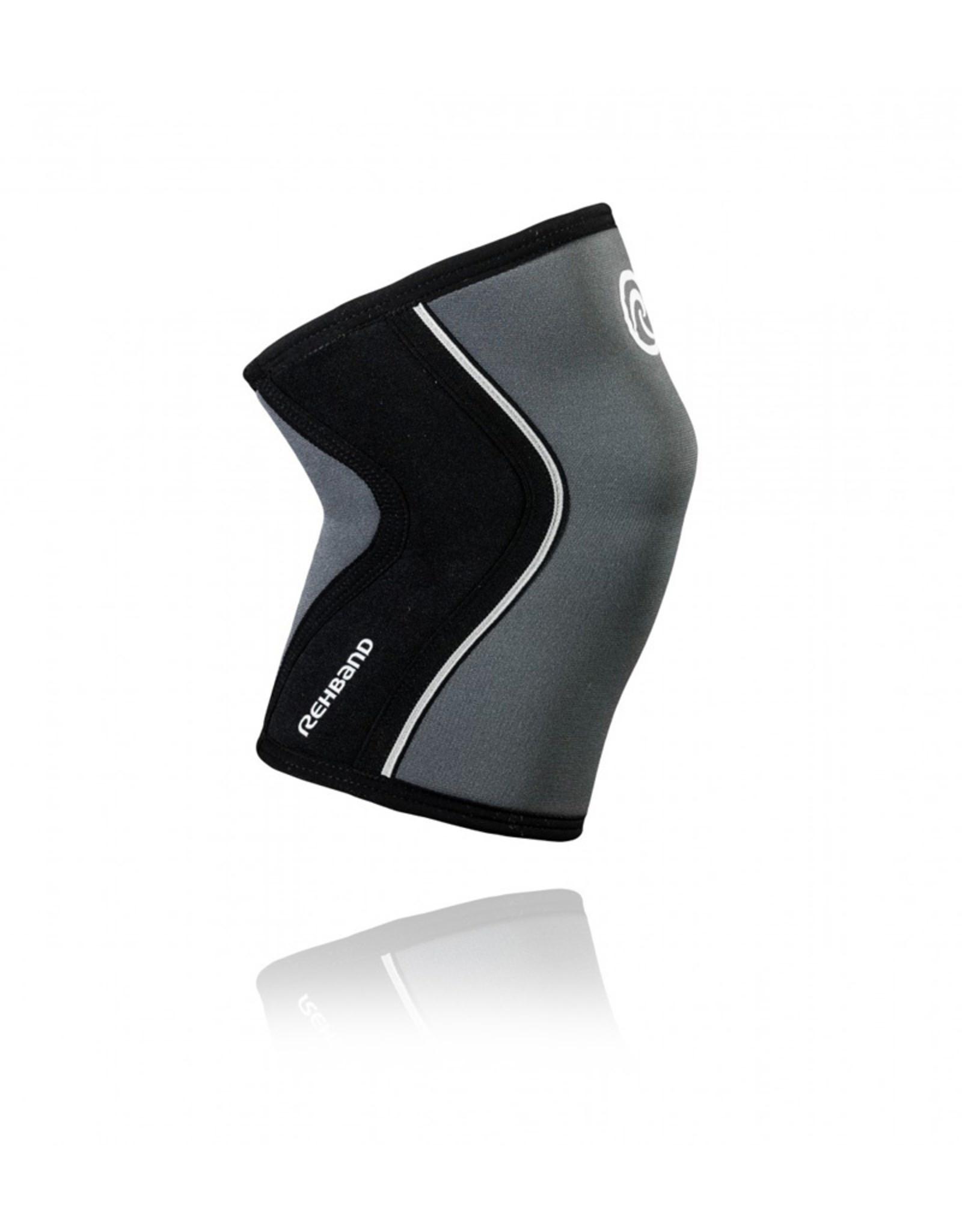 Rehband Rx Knee Sleeve 7Mm Kniebrace - Grijs