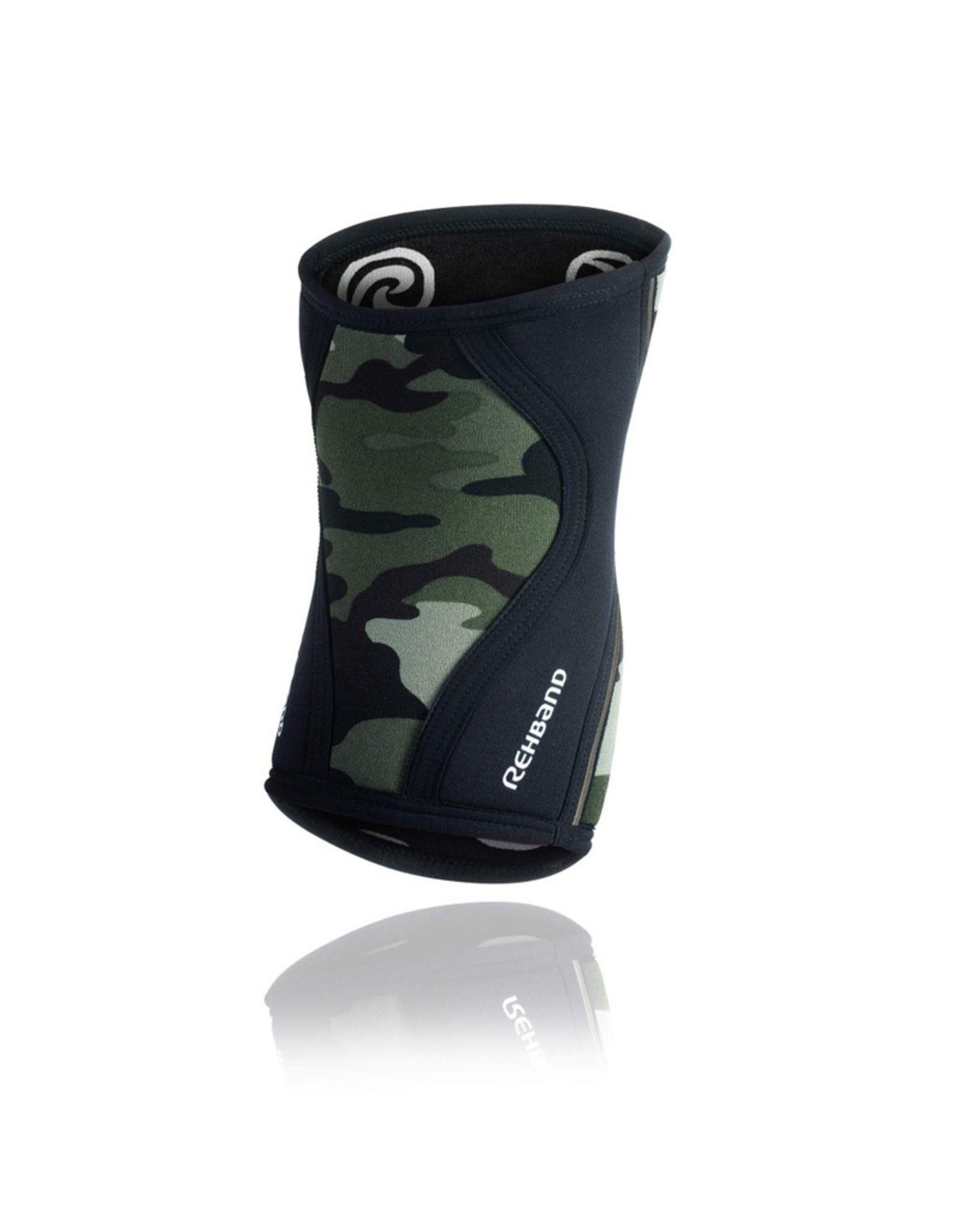 Rehband Rx Knee Sleeve 7Mm Genouillere - Camo