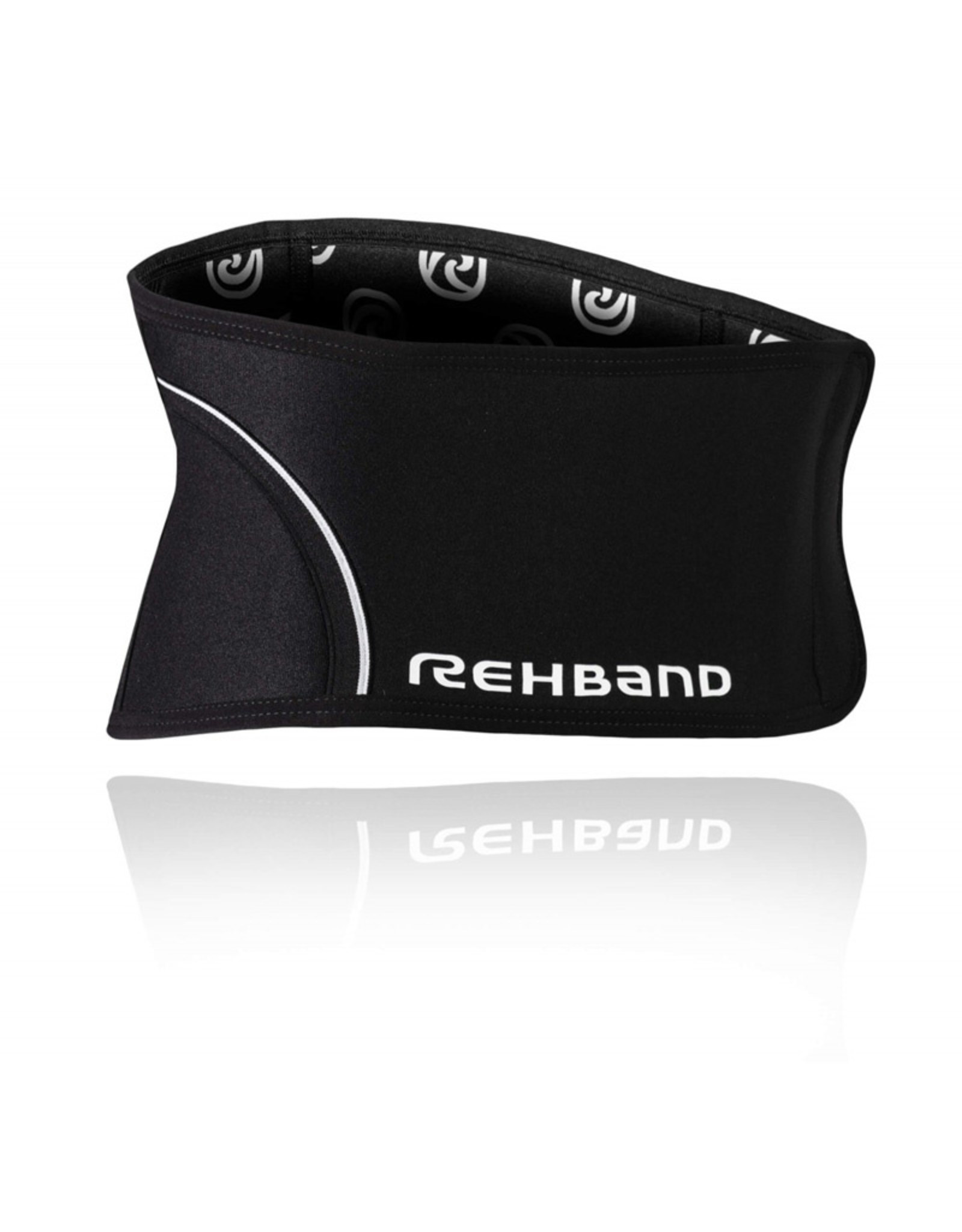 Rehband Qd Back Support 5Mm Rugbrace - Zwart