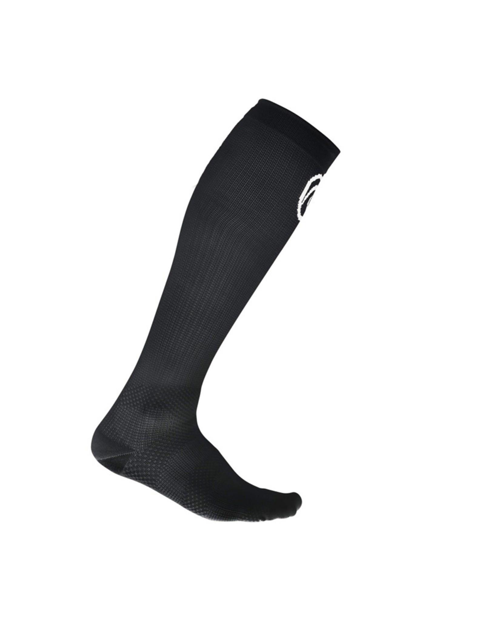 Rehband Qd Compression Socks Compressiesokken - Zwart