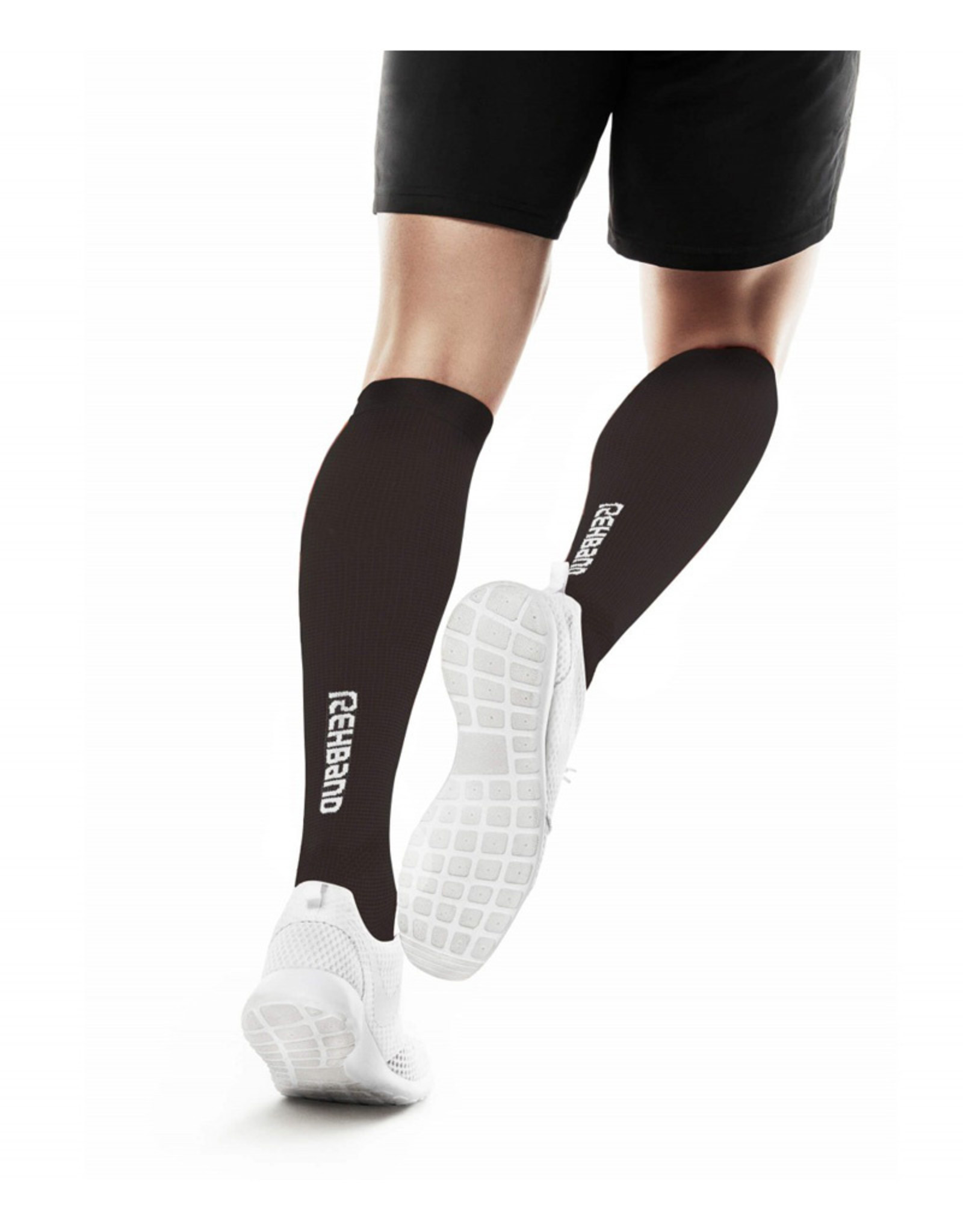 Rehband Qd Compression Socks Chaussettes De Compression - Noir