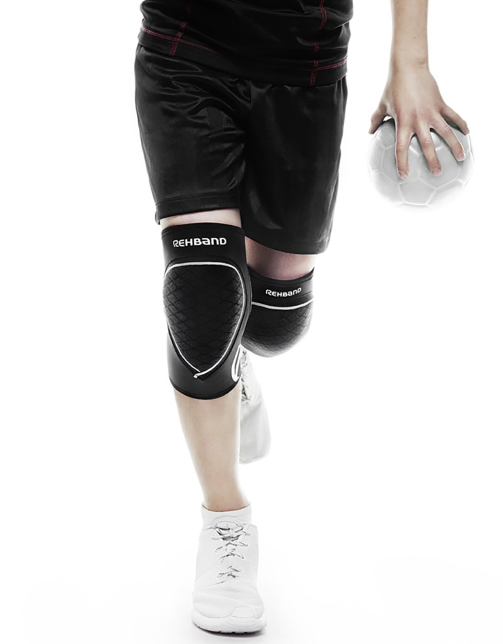 Rehband Prn Knee Pad Jr 5Mm Genouillere Pair - Noir