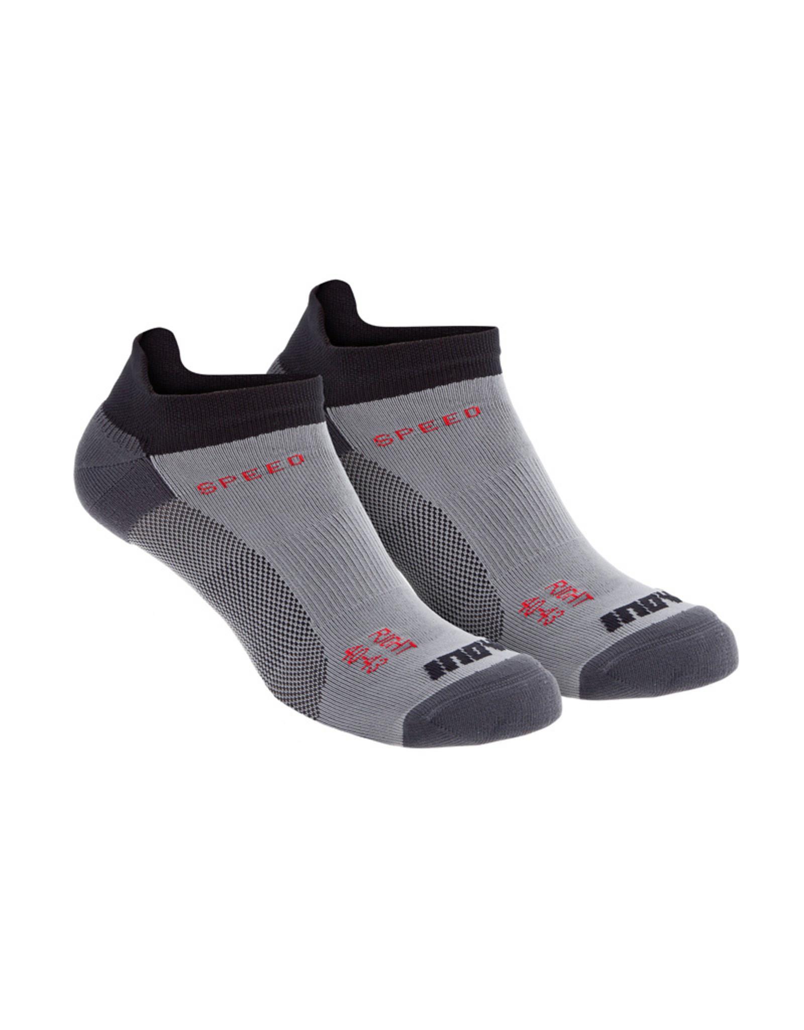 Inov-8 Speed Sock Chaussettes De Running Laag Deux Paires - Noir
