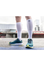 Compressport Full Socks Race & Recovery Compressiesokken - Wit