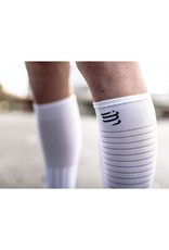 Compressport Full Socks Race & Recovery Compressiesokken - Wit