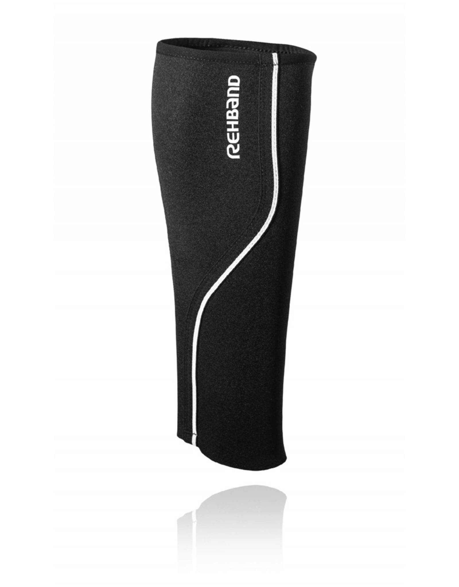 Rehband Qd Shin & Calf Sleeve 3Mm Bandage De Veau - Noir