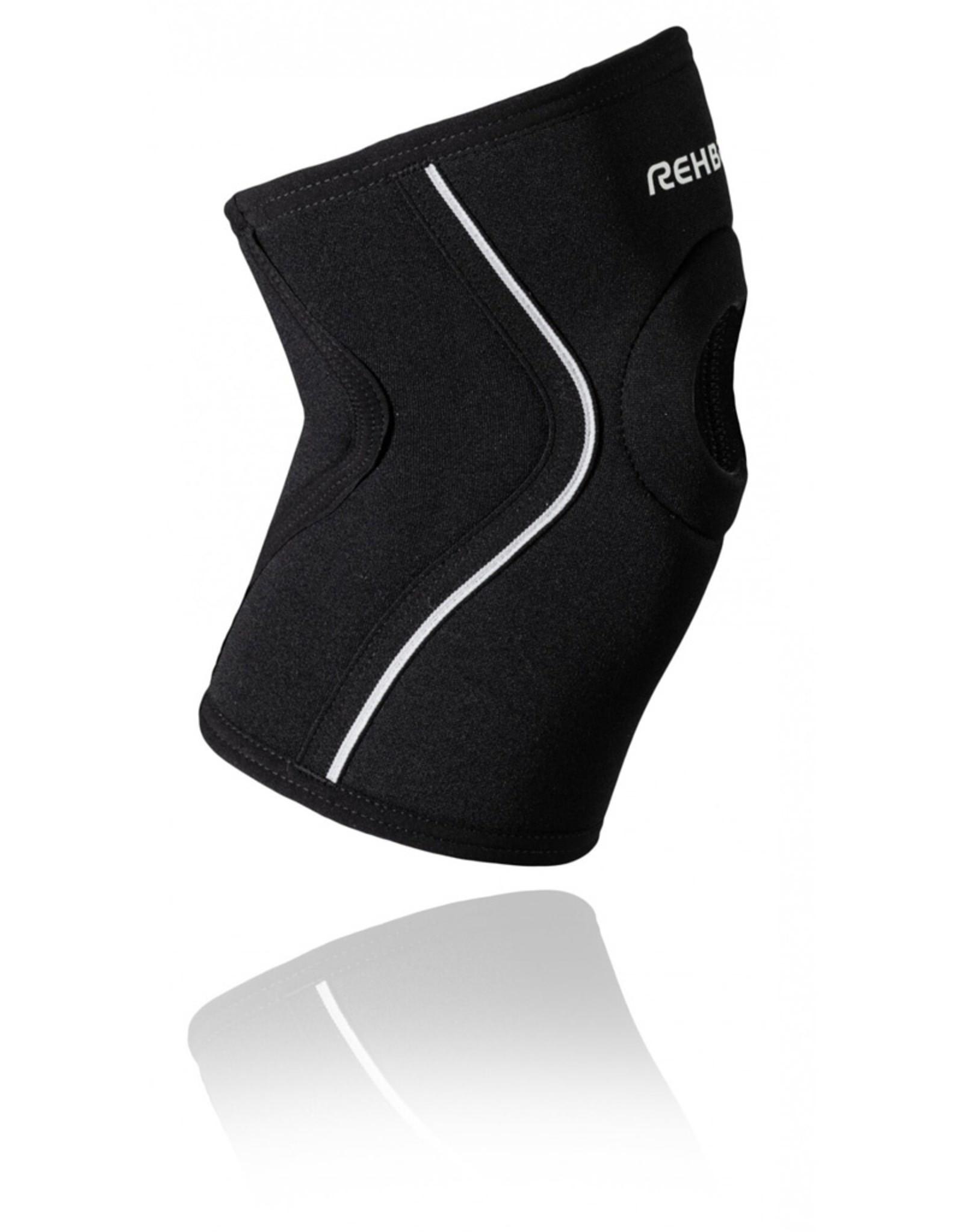Rehband Ud Knee Sleeve Patella Open Genouillere - Noir