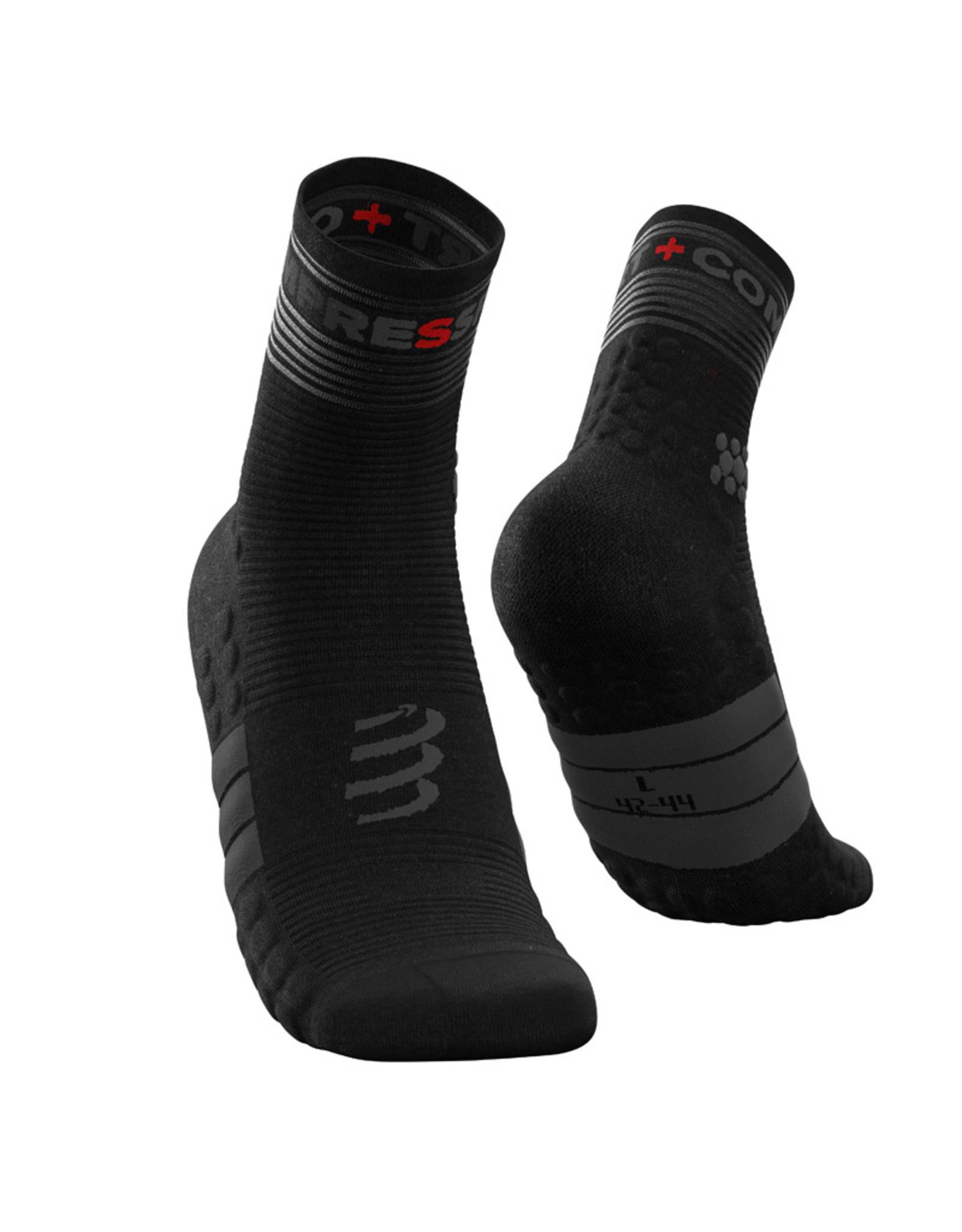 Compressport Pro Racing Socks Flash Chaussettes De Running - Noir