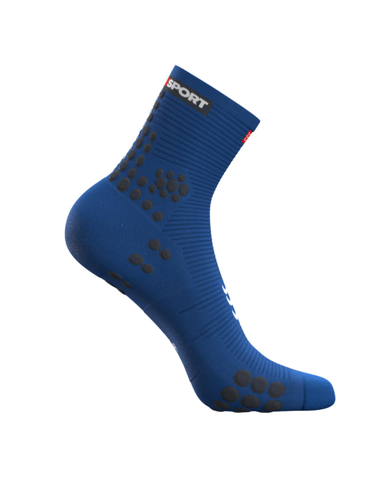 Compressport Pro Racing Socks V3.0 Run High Hardloopsokken - Blauw