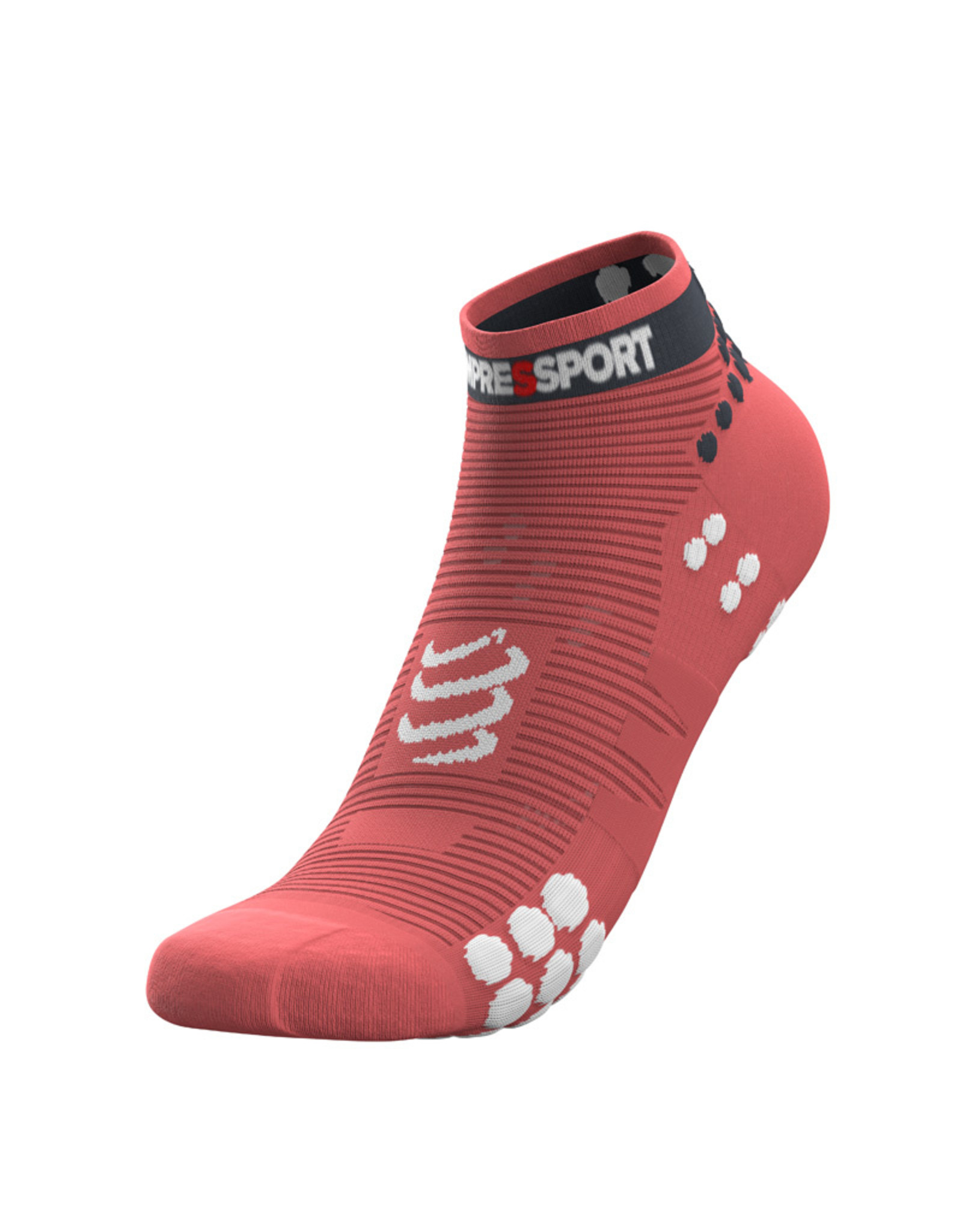 Compressport Pro Racing Socks V3.0 Run Low Hardloopsokken - Roze