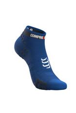 Compressport Pro Racing Socks V3.0 Run Low Chaussettes De Running - Bleu