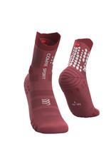 Compressport Pro Racing Socks V3.0 Trail Chaussettes De Running - Rose