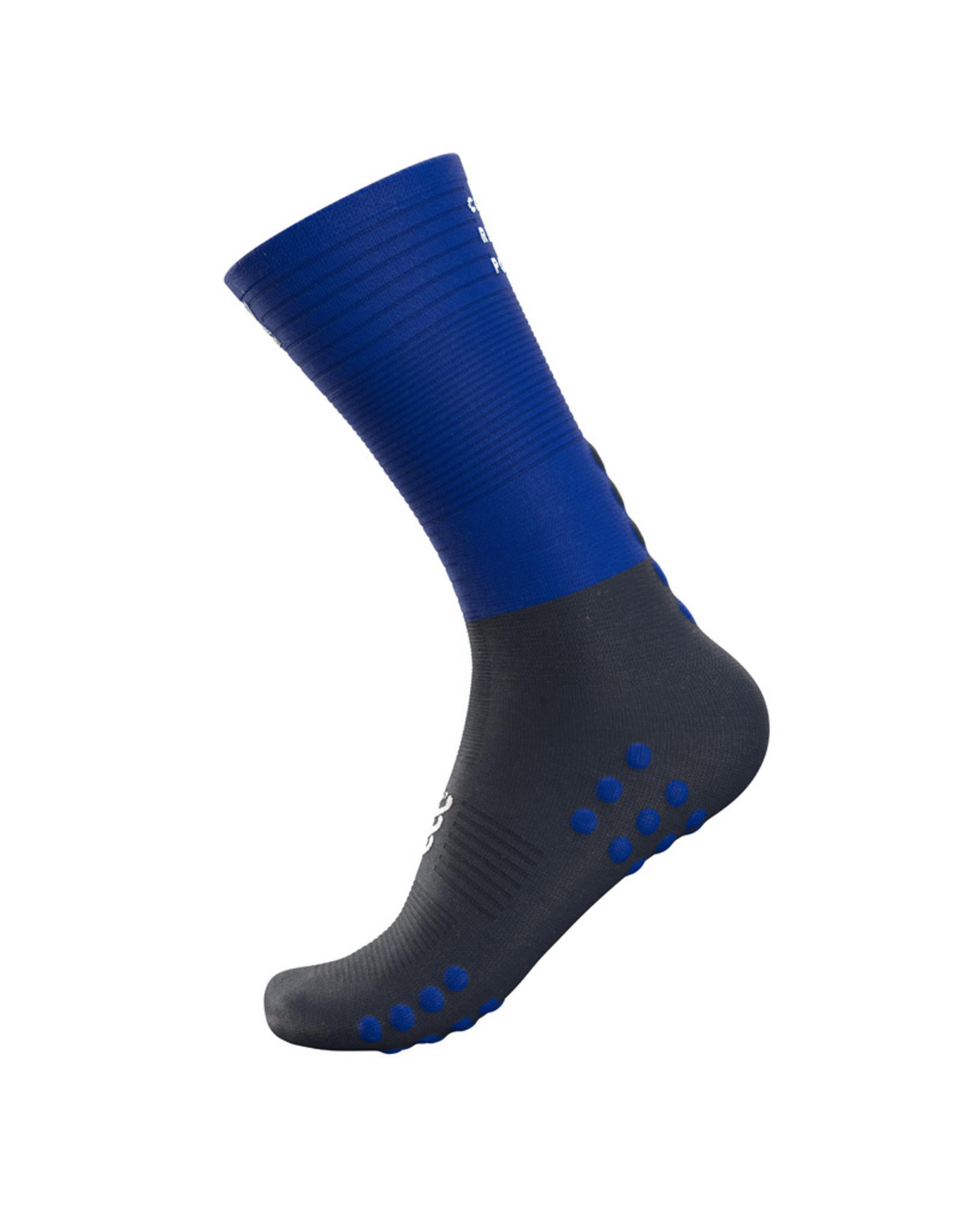 Compressport Mid Compression Socks - Bleu