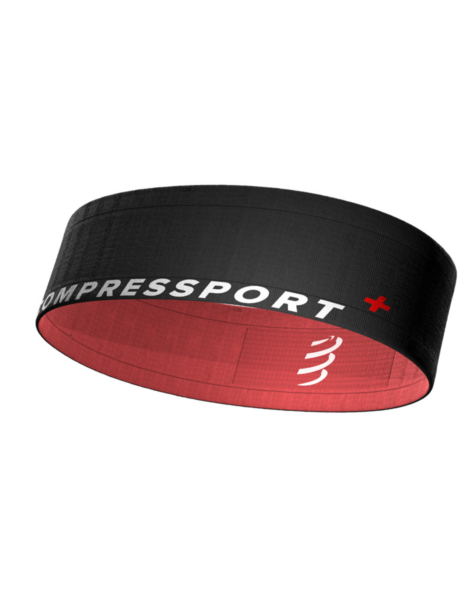 Compressport Free Belt - Noir/Rose