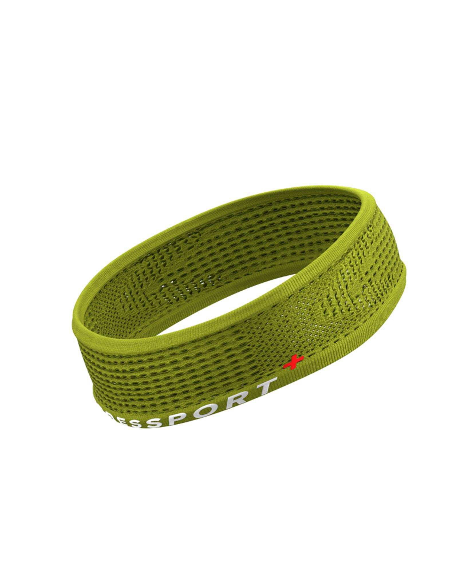 Compressport Thin Headband On/Off - Geel