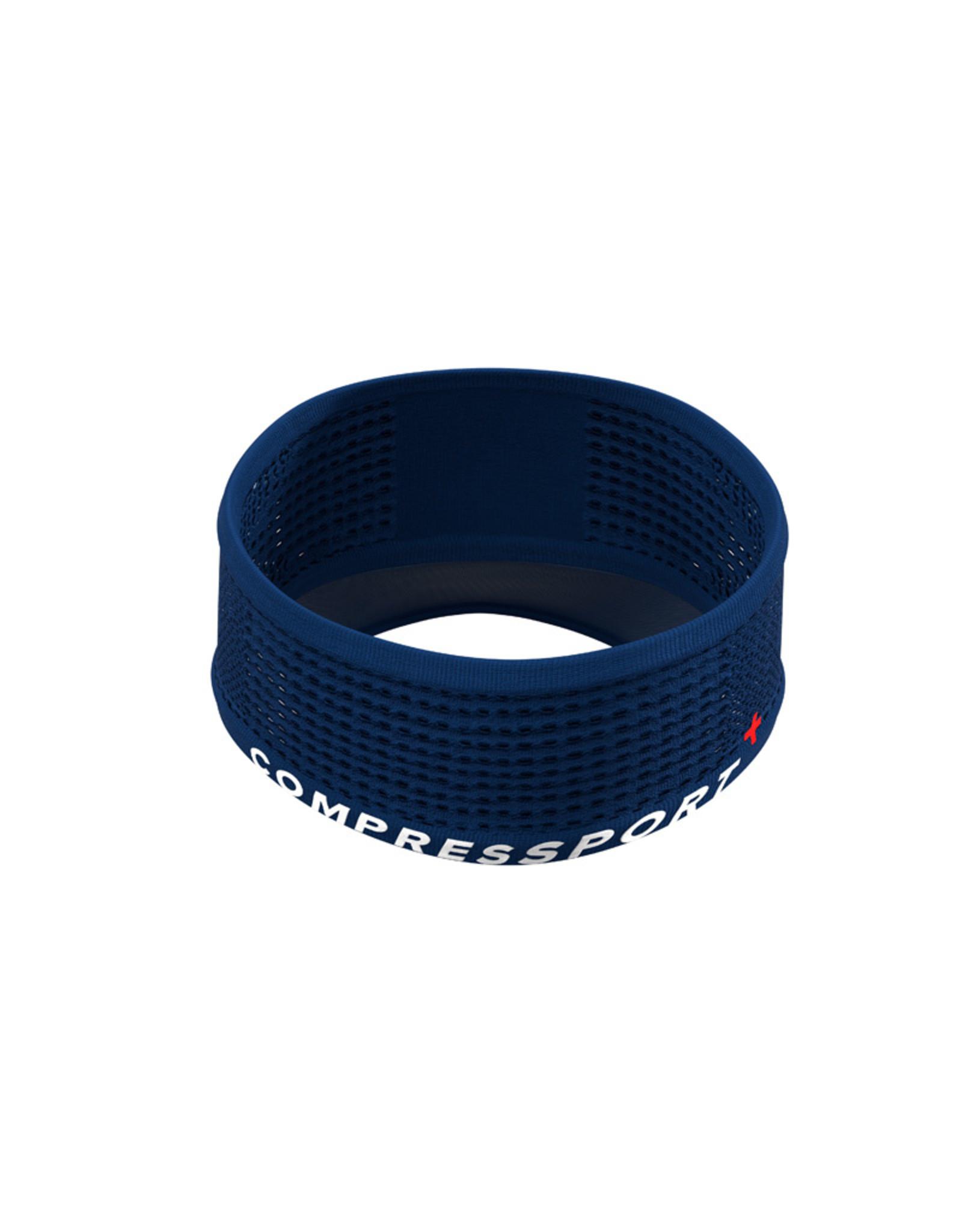 Compressport Spiderweb Headband On/Off - Bleu