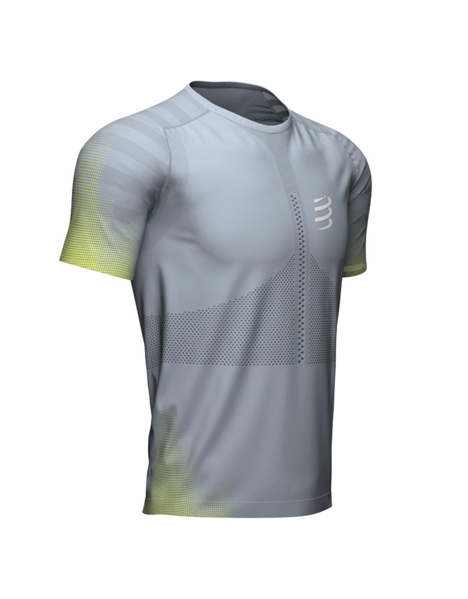 Compressport Racing SS Tshirt - Grijs
