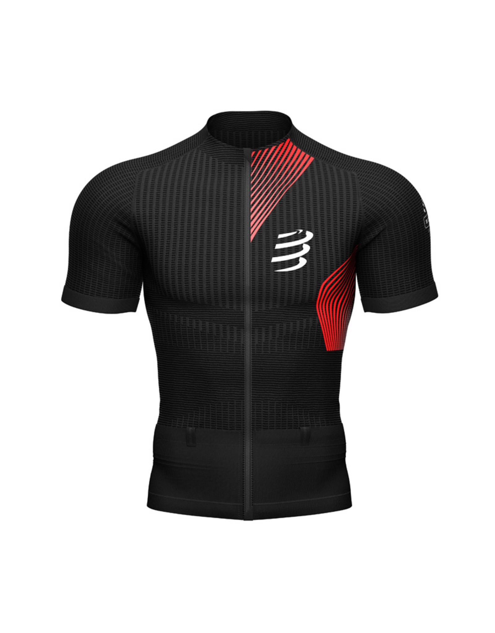 Compressport Trail Postural SS Top Trailrunning Shirt - Zwart