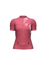 Compressport Trail Postural SS Top Trailrunning Shirt - Roze