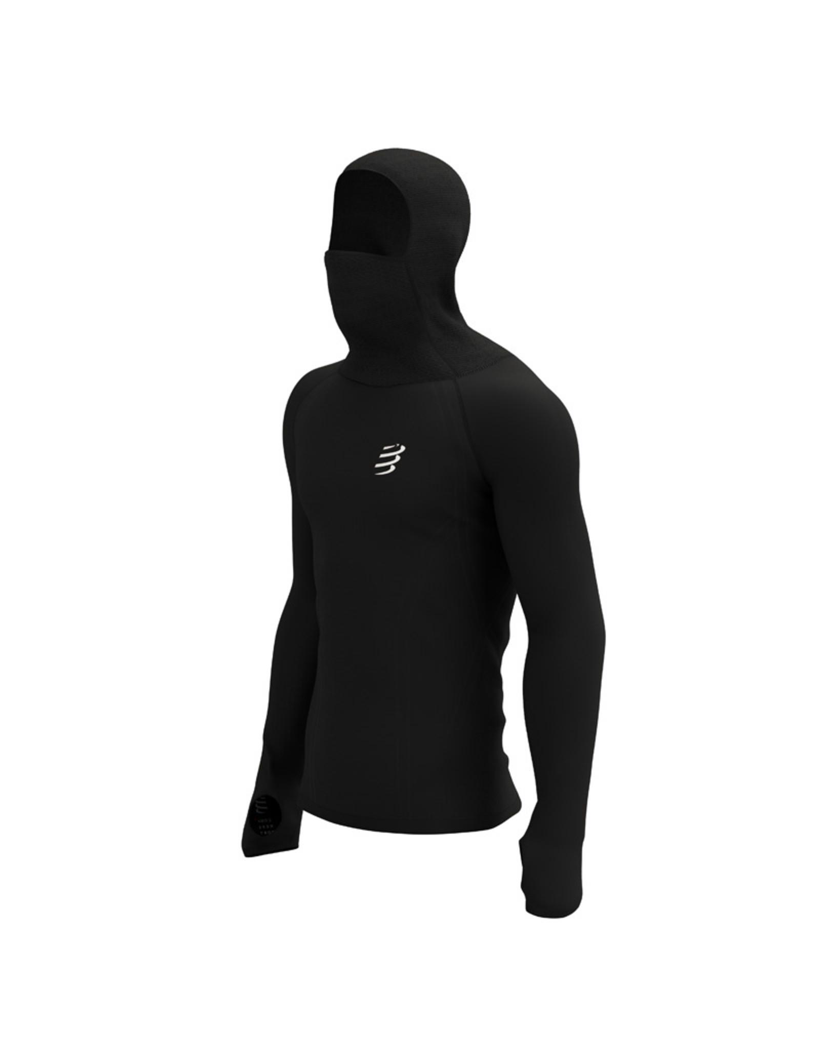 Compressport 3D Thermo Ultralight Racing Hoodie - Zwart
